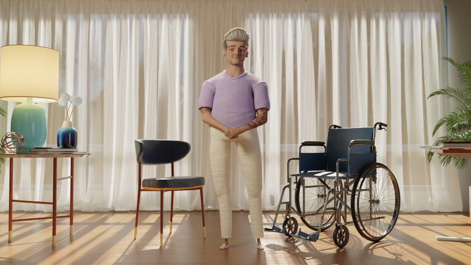 Langzeit Pflege Schweiz Fragen Livio Kampagne